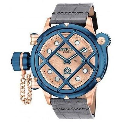 【売り切り御免!】 腕時計 インヴィクタ メンズ Invicta16179 Diver Russian 腕時計 Diver スイス Invicta16179 Mechaニカl グレー レザー 腕時計, ラブリーナッツファクトリー:cba8d286 --- levelprosales.com