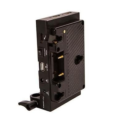 カメラ 写真 フォトアクセサリー 充電器 クレードル iKan Power Dock with AB Mount for Anton Bauer Batteries #IPD A