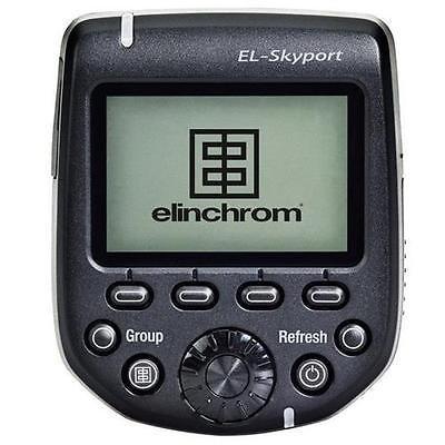 カメラ 写真 ストロボ フラッシュ アクセサリ 消耗品Elinchrom EL Skyport 40 Channel 2.4GHz Transmitter Plus HS for Nikon Cameras