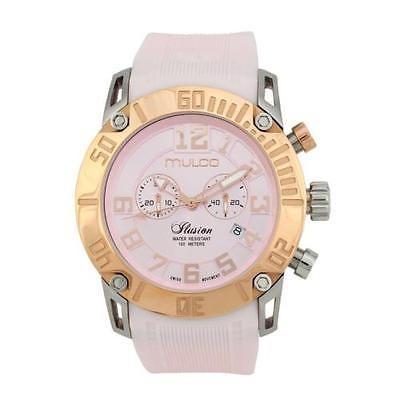 大好き マルコMulco Ilusion ツートン クロノグラフ ステンレス スチール 腕時計 MW311011083, 品質満点 c92841ce