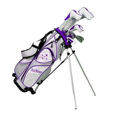 格安SALEスタート! ゴルフクラブ ツアーエッジ set Tour Edge レディース Edge 7-Piece Starter Set Standard Set ホワイト/Plum Standard Right ゴルフ set, ワイエムエス大阪:8de19de0 --- airmodconsu.dominiotemporario.com