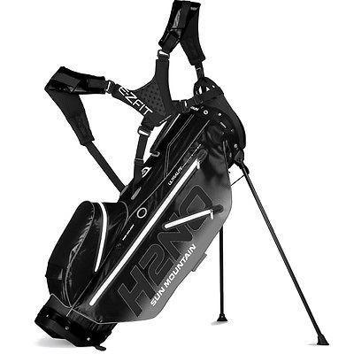 ゴルフクラブバッグ サンマウンテン Sun Mountain H2no Ultra Lite Stand バッグ ブラック -ゴルフ バッグ