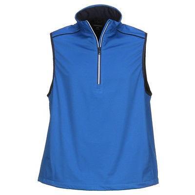 距離計 スコープ グレグ ノーマン Greg Norman ウェザーニット Vest ブルー X-ラージ- ゴルフ outerwear