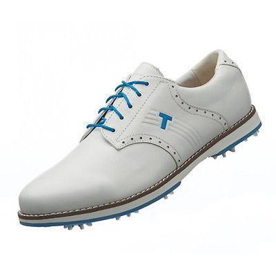 ゴルフ シューズ トゥルーリンクス True Linkswear Classix ゴルフ シューズ ホワイト 8 ミディアム -メンズ ゴルフ シューズ