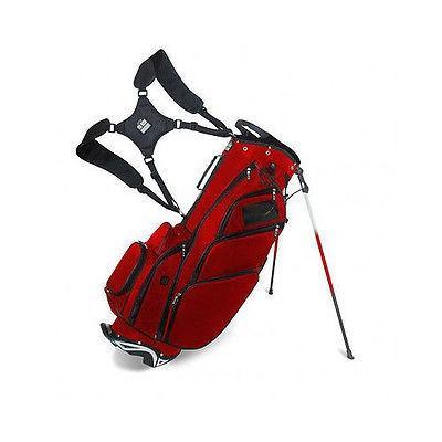 ゴルフ クラブ バッグ JCR SALES CONSULT海外セレクション インク Jcr Dl550 Stand バッグ Crimson/ブラック -ゴルフ バッグ