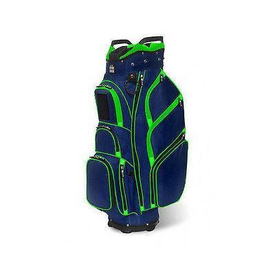 ゴルフ クラブ バッグ JCR SALES CONSULT海外セレクション インク Jcr Tl650 Cart バッグ ネイビー/ライム ゴルフ バッグ