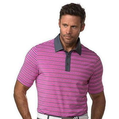 ゴルフウェアボトムス チェイス54 Chase 54 Cullen Polo Sangria ラージ -メンズ ゴルフ shirt