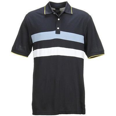 距離計 スコープ ダニング Dunning Pique Ss Polo Halo スモール メンズ ゴルフ shirt