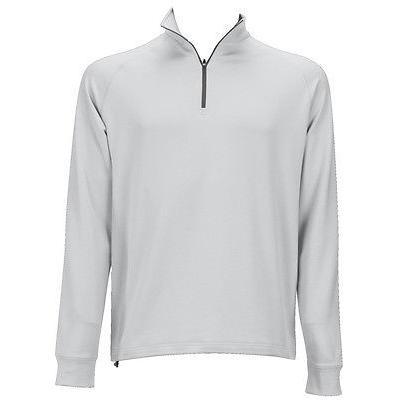 距離計 スコープ ダニング Dunning Thermal 長袖 1/4 ジップ ライト グレー Xx-ラージ メンズ ゴルフ outerwear