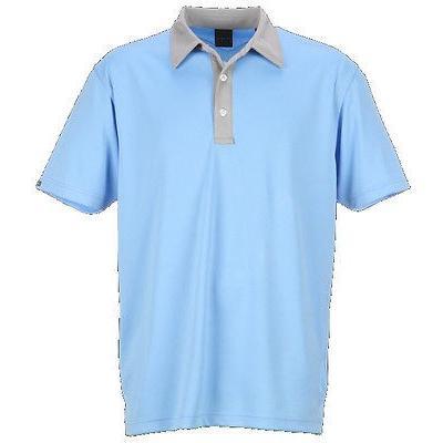 距離計 スコープ ダニング Dunning Solid mesh W/Contrast Polo Sequence ミディアム メンズ ゴルフ shirt