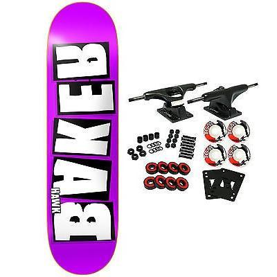 スケボー ベーカー スケートボードコンプリート BAKER スケートボード スケボ Complete HAWK REKAB 7.875
