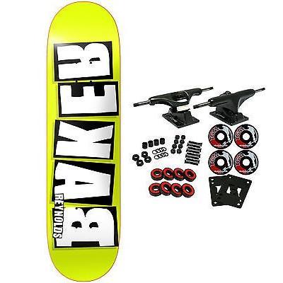 スケボー ベーカー スケートボードコンプリート BAKER スケートボード スケボ Complete REYNOLDS REKAB 8.0