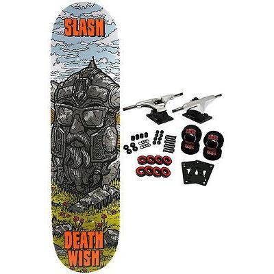 スケボー デスウィッシュ スケートボードコンプリート DEATHWISH スケートボード スケボ Complete SLASH RUINS 8.125