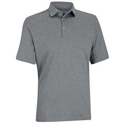 シャツ トップス セーター アシュワース Ashworth Primatec コットン Interlock Solid Shirt Mid グレー XX-ラージ