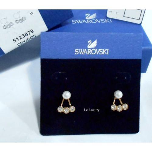【全品送料無料】 イヤリング スワロフスキー Swarovski イヤリング Caress Pierced Earring in Authentic Jackets, 2 looks in 1 Crystal Authentic 5123879, テクノネットSHOP:a8b1daec --- airmodconsu.dominiotemporario.com