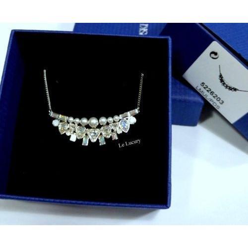 限定価格セール! ネックレス スワロフスキー Swarovski MIB Festivity Authentic Swarovski Small Necklace,Crystal/Crystal Pearls Authentic MIB 5226203, イイノマチ:f2535af9 --- airmodconsu.dominiotemporario.com
