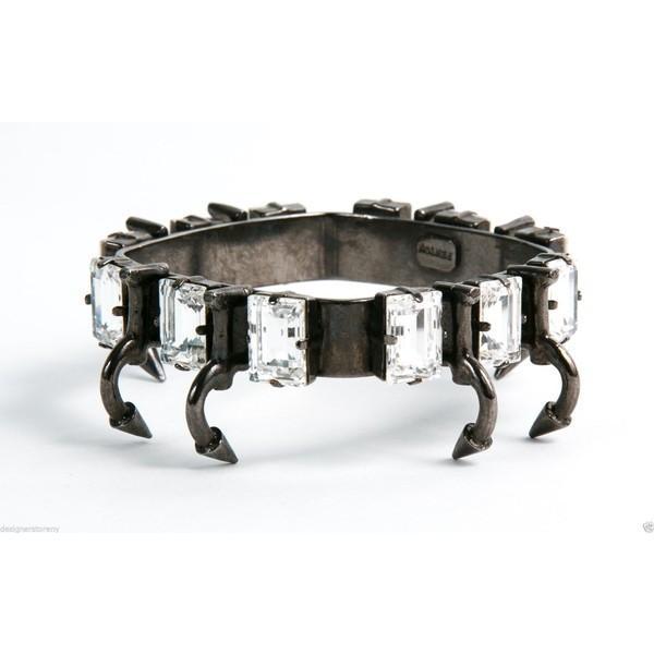 正式的 ブレスレット 海外セレクション Fenton Fallon Brass Bracelet Cuff w/ Rhinestones, ミエグン 3a7ba975