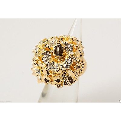 注目のブランド リング ケネスジェイレーン Jay Kenneth flower Jay Lane ring gold crystal dome flower ring, アウトレットニュージャパン:67c28f4d --- airmodconsu.dominiotemporario.com