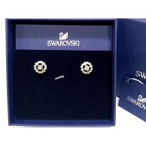 感謝の声続々! イヤリング スワロフスキー Swarovski Sparkling Flower Pierced Earrings Crystal Authentic MIB 5396227, リフォーム本舗 87b69bf8
