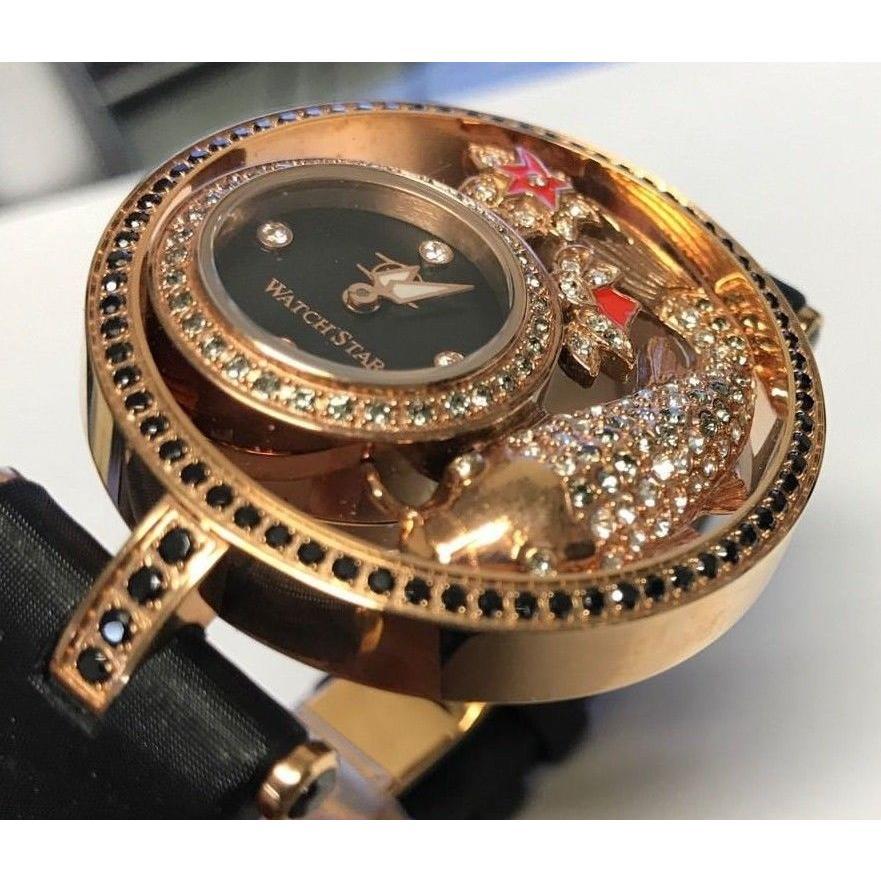 【T-ポイント5倍】 腕時計 ウォッチスター New Swiss Watchstar Diva 腕時計 Star Watch Koi Fish 45mm Swiss Made Diamond Marker Peal Watch, ナガクテチョウ:2a16e53d --- airmodconsu.dominiotemporario.com