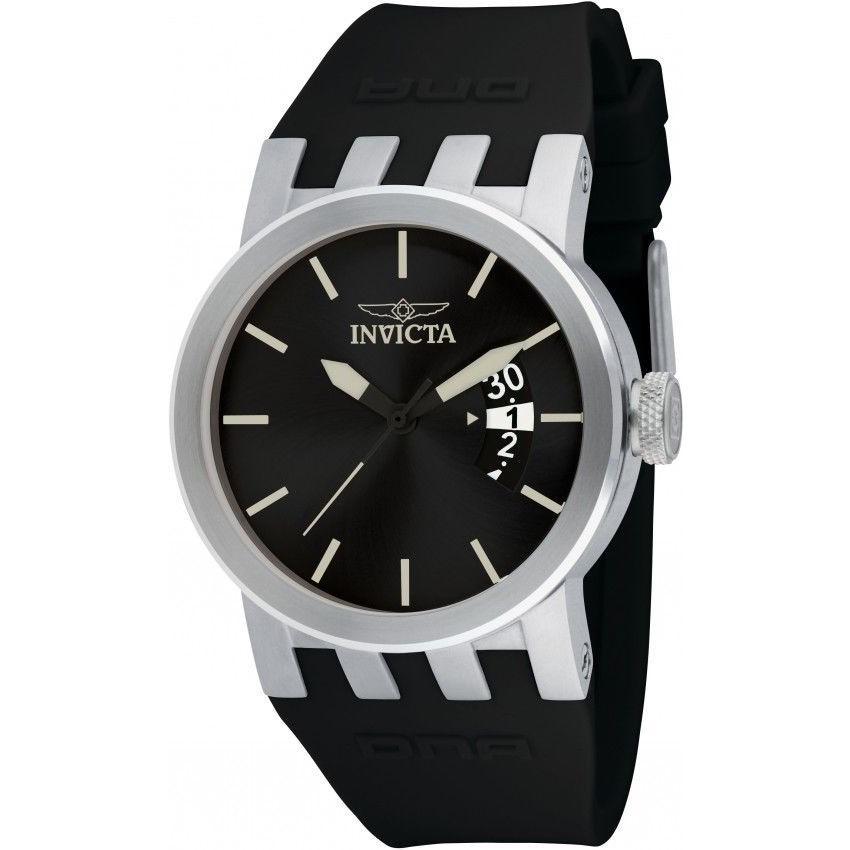 人気商品は 腕時計 インヴィクタ New Rubber Ladies Invicta Ladies 10411 DNA 40mm DNA Black Rubber Strap Quartz Watch, GreenLabel:267cee51 --- airmodconsu.dominiotemporario.com