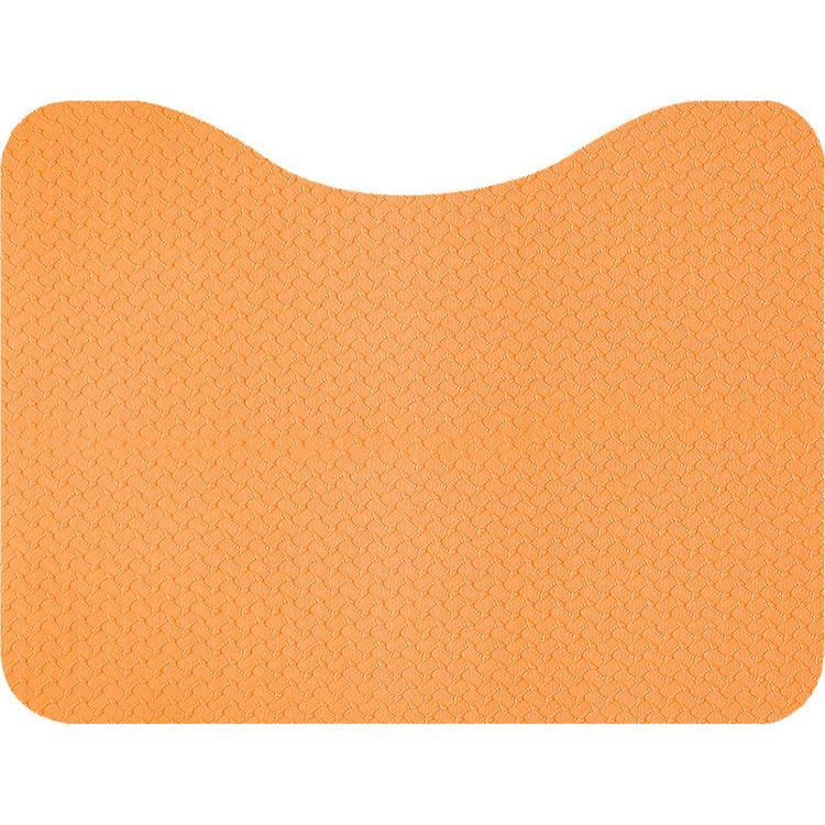 立ち上がりトイレマット 上質 オレンジ 超激得SALE サンコー AF-37
