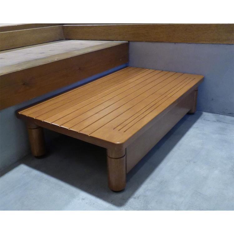 最も優遇の 奥行35 玄関台 パナソニック 木製玄関ステップ エイジフリー AF-6035-介護用品