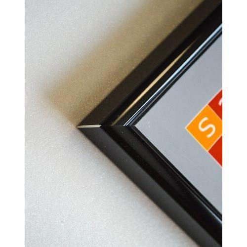 ポスターフレーム額縁HT711 A2ブラック UVカット仕様 |panel-c|03