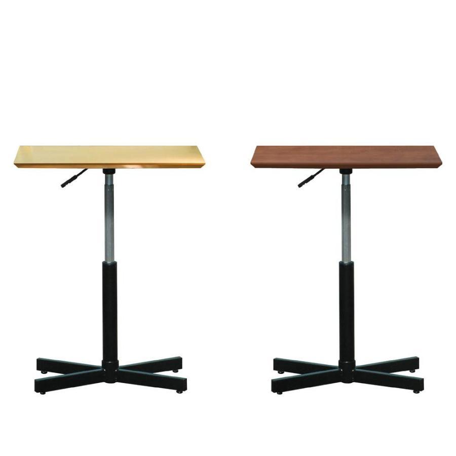 送料無料 ルネセイコウ 昇降テーブル ブランチ ヘキサテーブル 日本製 組立品 BRX-645T D・ダークブラウン・ブラック b03