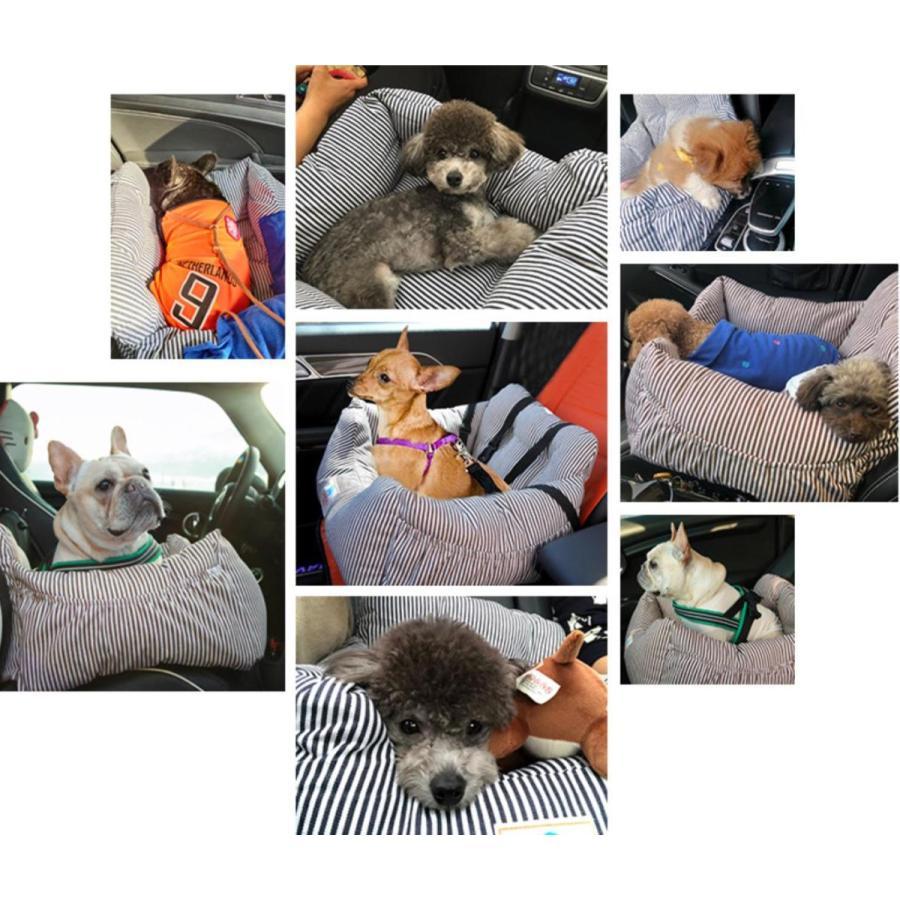 ペット用 車載 ドライブベッド 犬用 ペットソファー ドライブシート ソファー 助手席 車用ペットベッド 飛び出し防止 水洗い 車用ペットシート Panni panni-fashion 09