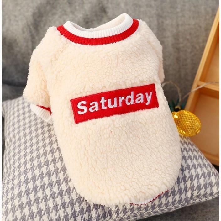 犬の服 冬 ドッグウェア 犬 服 秋冬 暖かい 防寒 もこもこ ふわふわ 可愛い 二足 小型犬 中型犬 選べる 3色 XS S M L XL Panni panni-fashion 11