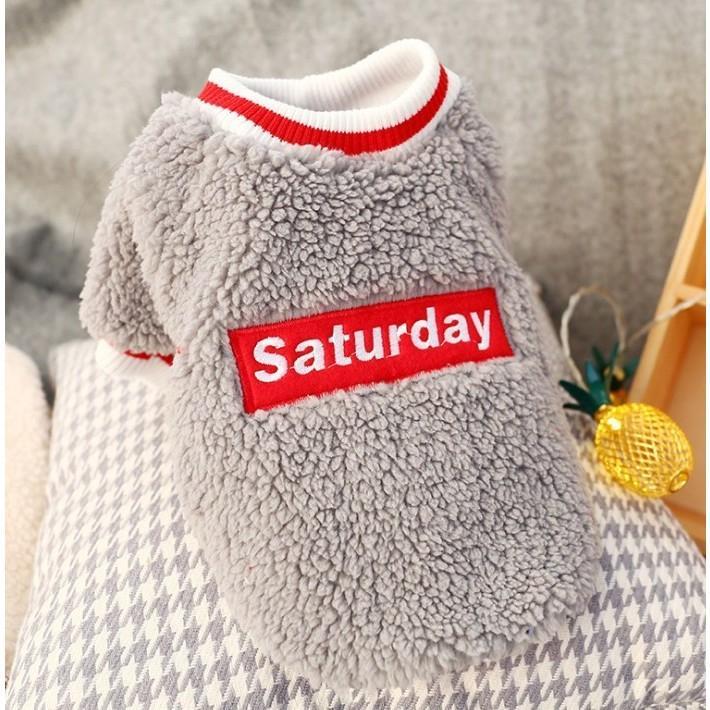 犬の服 冬 ドッグウェア 犬 服 秋冬 暖かい 防寒 もこもこ ふわふわ 可愛い 二足 小型犬 中型犬 選べる 3色 XS S M L XL Panni panni-fashion 10