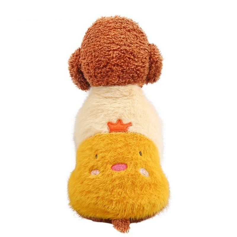 犬の服 ドッグウェア 犬 服 ドッグクローズ 秋冬 暖かい 暖かい服 防寒 もこもこ ふわふわ 可愛い 二足 小型犬 中型犬 選べる 全2色 XS S M L XL Panni 送料無料|panni-fashion|02