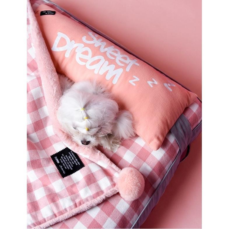 ペットベッド ソフトペット 犬 クッション ペット 小型犬 中型犬 大型犬 柴犬 マット スクエア型 暖かい 防寒対策 秋冬  ヨーロッパ風 M:72*58*12 Panni panni-fashion 06