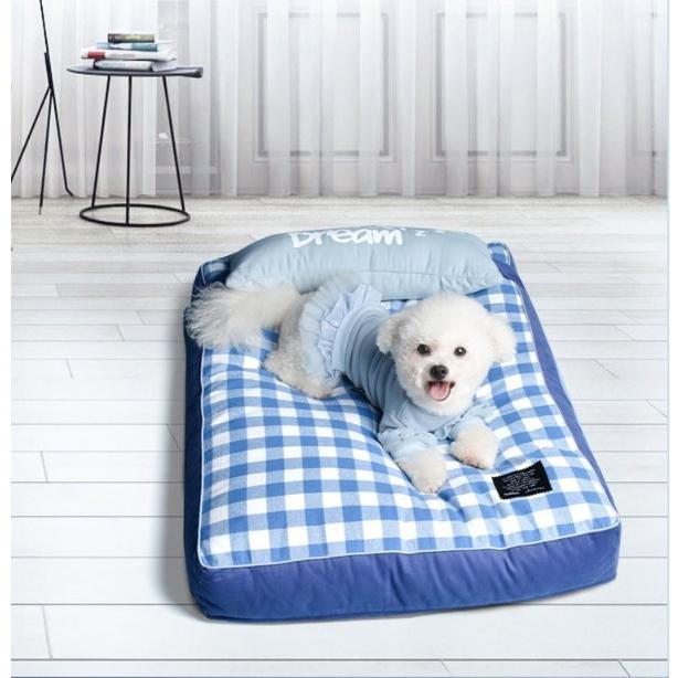 ペットベッド ソフトペット 犬 クッション ペット 小型犬 中型犬 大型犬 柴犬 マット スクエア型 暖かい 防寒対策 秋冬  ヨーロッパ風 S:55*42*12 Panni|panni-fashion|04