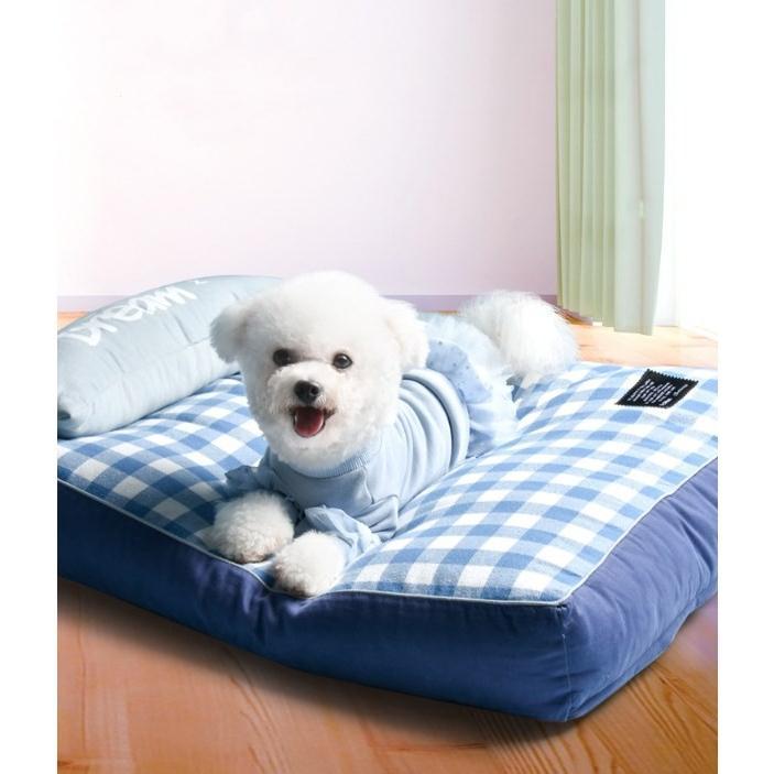 ペットベッド ソフトペット 犬 クッション ペット 小型犬 中型犬 大型犬 柴犬 マット スクエア型 暖かい 防寒対策 秋冬  ヨーロッパ風 S:55*42*12 Panni|panni-fashion|07
