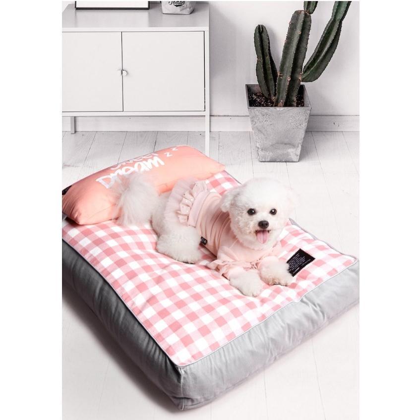 ペットベッド ソフトペット 犬 クッション ペット 小型犬 中型犬 大型犬 柴犬 マット スクエア型 暖かい 防寒対策 秋冬  ヨーロッパ風 S:55*42*12 Panni|panni-fashion|08