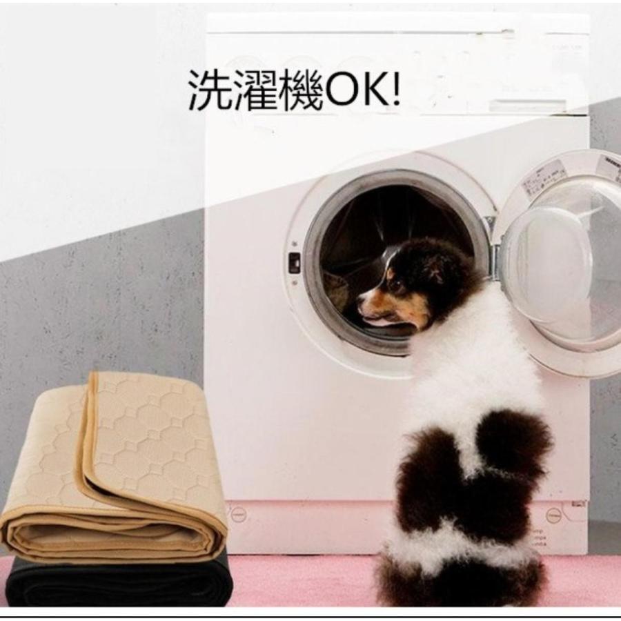 犬用 トレーニングパッド 犬シーツ ペットシーツ 洗える トイレ下敷きマット おしっこパッド 速乾 洗える 選べる 3サイズ2カラー Mサイズ Lサイズ)|panni-fashion|09