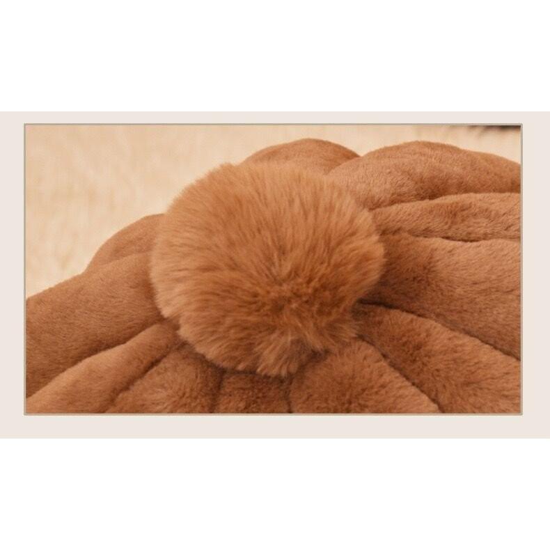 ペットベッド 犬 猫 ふわふわ 暖か ペットハウス 猫ベッド ペット用 ペットハウス ペットベッド ドーム型 小型犬 マット付き 室内用  秋 冬 送料無料 panni-fashion 10