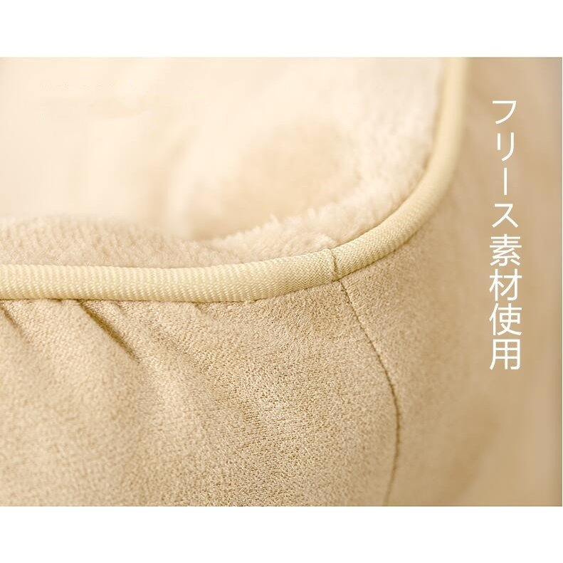 ペットベッド 猫ベッド 冬用 犬ベッド あったか ペット用 クッション 保温防寒 崩れにくい 小型犬 猫用ふわふわ 暖かい キャットハウス 34*34*23 送料無料|panni-fashion|16