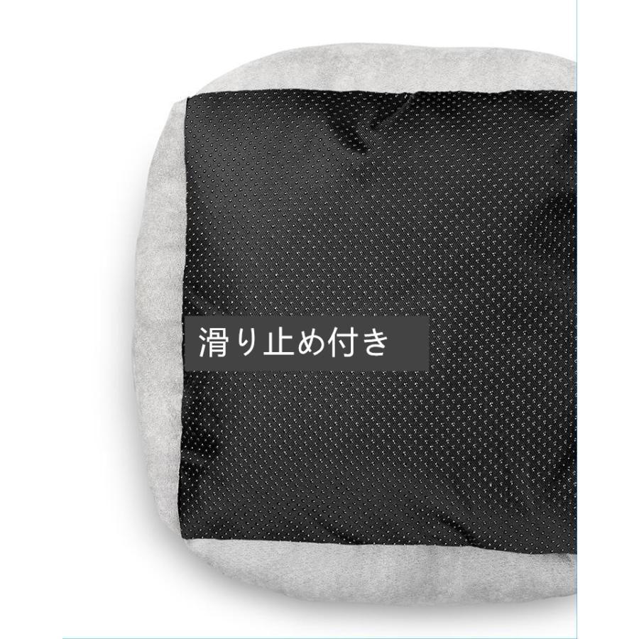 ペットベッド 猫ベッド 冬用 犬ベッド あったか ペット用 クッション 保温防寒 崩れにくい 小型犬 猫用ふわふわ 暖かい キャットハウス 34*34*23 送料無料|panni-fashion|17