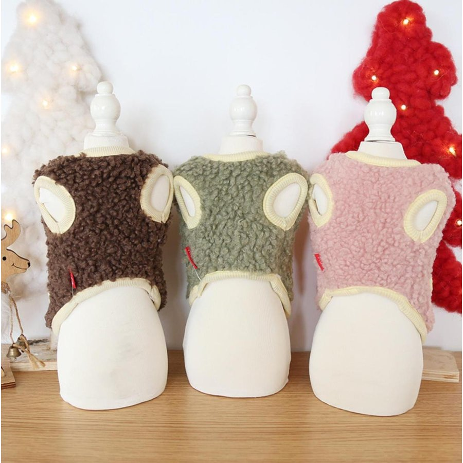 犬の服 秋冬 ドッグウェア 犬 服  防寒 もこもこ 暖かい 可愛い 二足 小型犬 中型犬 選べる XS S M L XL Petstyle 送料無料|panni-fashion|05
