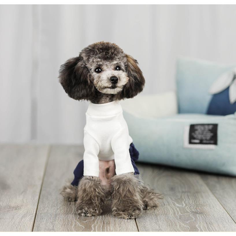 犬 服 ドッグウェア 犬服 秋 冬 あったか 暖か 服 超小型犬 小型犬 ジャージ かわいい おしゃれ パーカー つなぎ イヌ チワワ 送料無料|panni-fashion|05