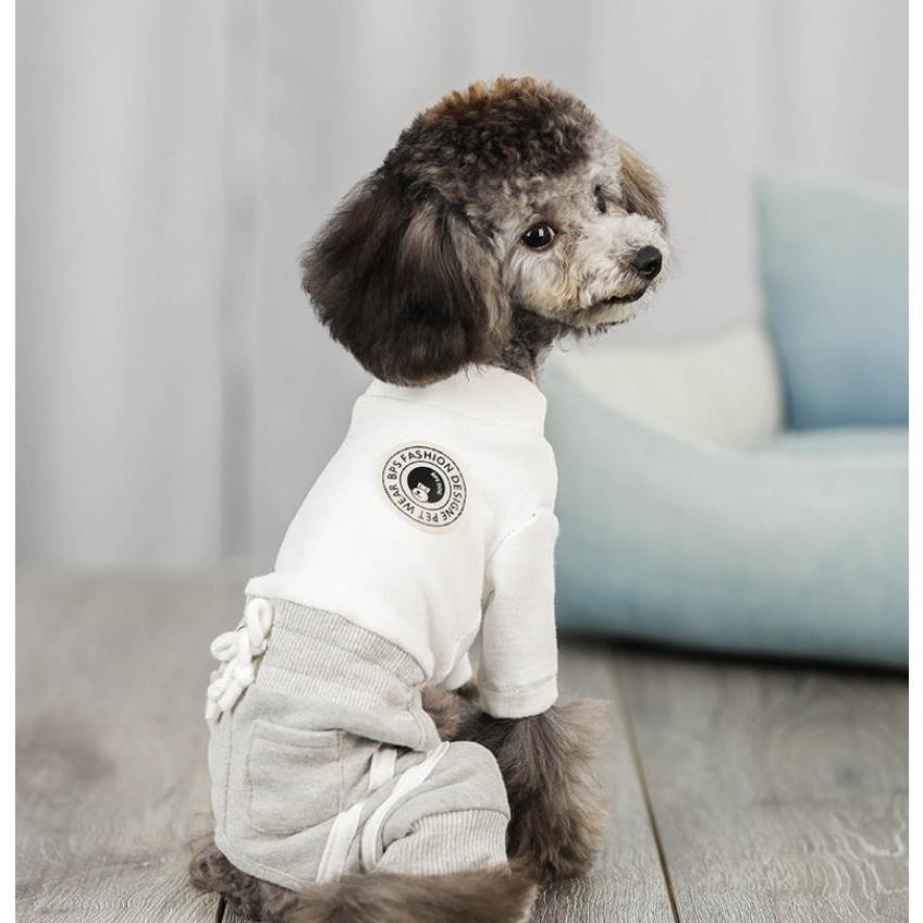 犬 服 ドッグウェア 犬服 秋 冬 あったか 暖か 服 超小型犬 小型犬 ジャージ かわいい おしゃれ パーカー つなぎ イヌ チワワ 送料無料|panni-fashion|08