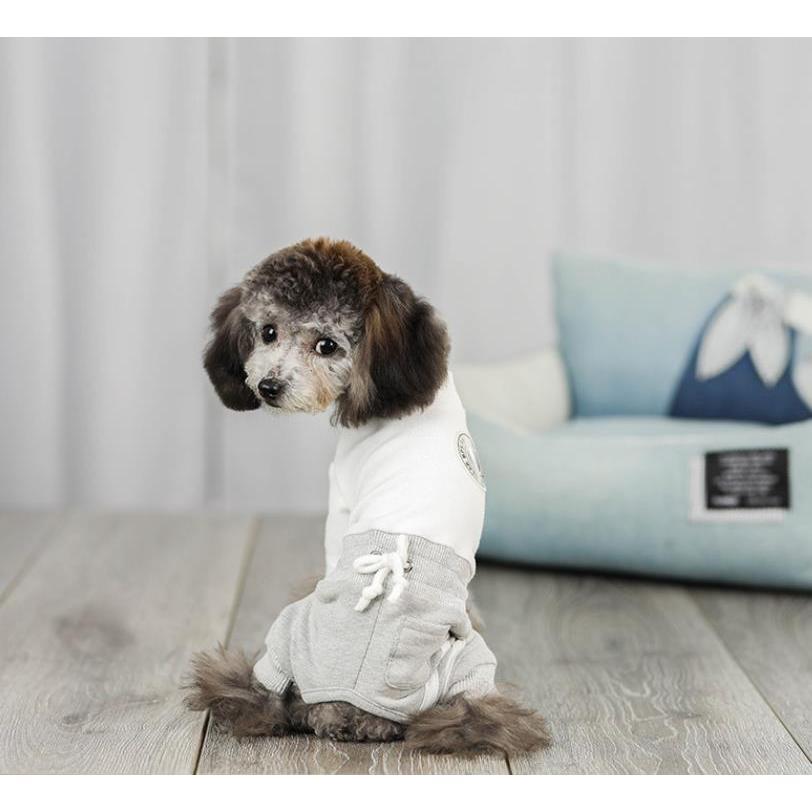 犬 服 ドッグウェア 犬服 秋 冬 あったか 暖か 服 超小型犬 小型犬 ジャージ かわいい おしゃれ パーカー つなぎ イヌ チワワ 送料無料|panni-fashion|09