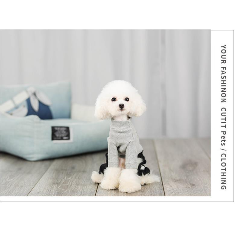 犬 服 ドッグウェア 犬服 秋 冬 あったか 暖か 服 超小型犬 小型犬 ジャージ かわいい おしゃれ パーカー つなぎ イヌ チワワ 送料無料|panni-fashion|10