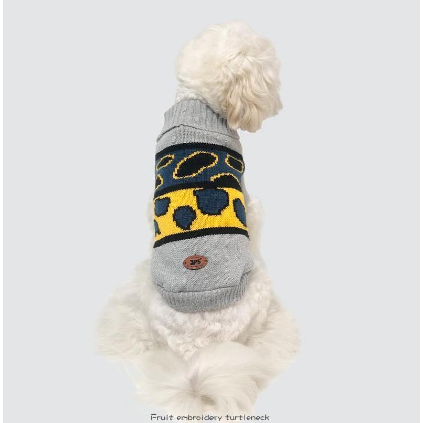 ペット服 ドッグウェア 犬服 秋 冬 シンプル 暖かい プチプラ 犬用セーター おしゃれセーター セーター あったか 暖か 犬の服 小型犬 中型犬 老犬 送料無料|panni-fashion|02