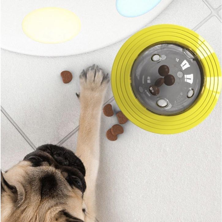 おやつボール 玩具ボール 噛むおもちゃ 餌入り 犬 留守番 ストレス解消 おもちゃ 犬 ボール 運動不足やストレス解消 ダイエット レーニングなど 犬遊び用|panni-fashion|12