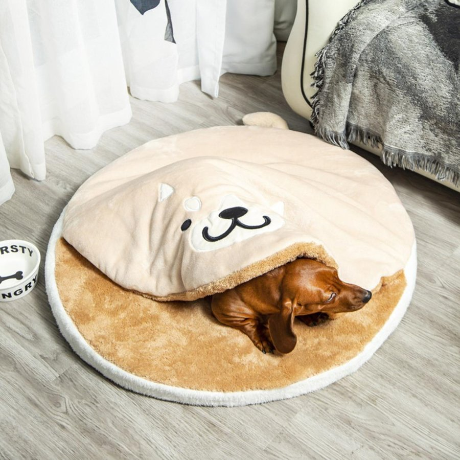 ペット ベッド 犬用 ベッド クッション ベッドクッション 柴犬 大人気 もこもこ ふわふわ 柔らかい 月3日再入荷 防寒保温 送料無料|panni-fashion|03