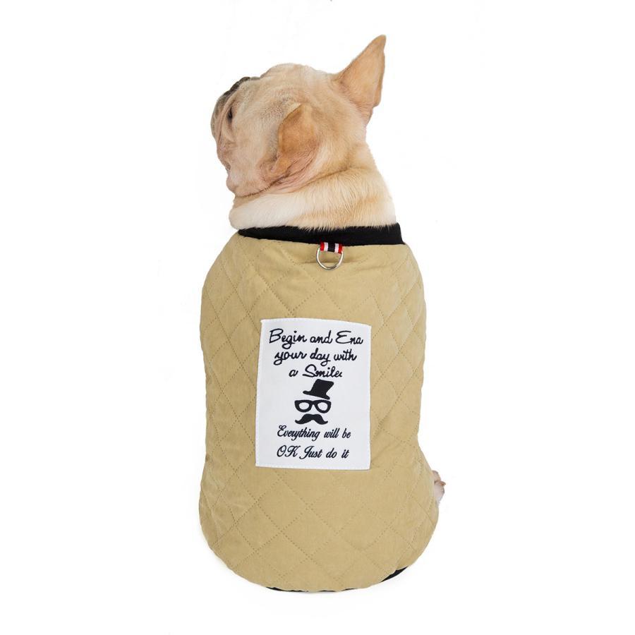 ドッグウェア 犬服 犬の服 秋冬 暖かい 防寒 保温防寒 犬 可愛い 二足 小型犬 中型犬 選べる フレンチブルドッグ服 3色 XS S M L XL Panni 送料無料|panni-fashion|03